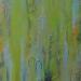 "Hierapolis Sulfurous pool 3 30"" x 36"" Mixed media on canvas"