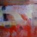 "Kayaköy Orthodox Church Wall 2 30"" x 36"" Mixed media on canvas"