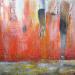 "Kekova 2  36"" x 36"" Mixed media on canvas"