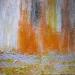 """Kekova 3 mixed media  on canvas and 24"""" x 24"""""""