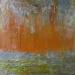 """Kekova 4 mixed media  on canvas and 24"""" x 24"""""""