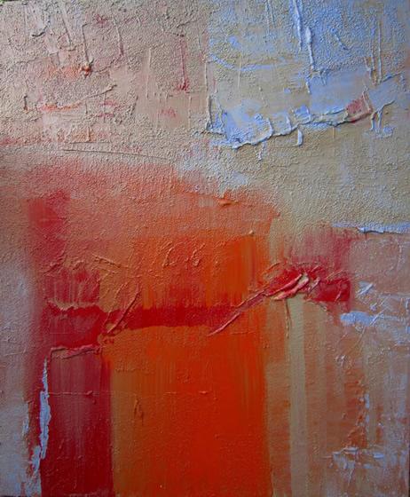 "Xanthos Stone 30"" x 36"" Mixed media on canvas"