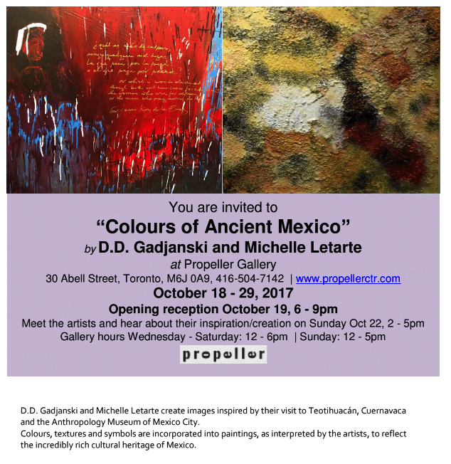 Colours of Ancient Mexico Exhibition